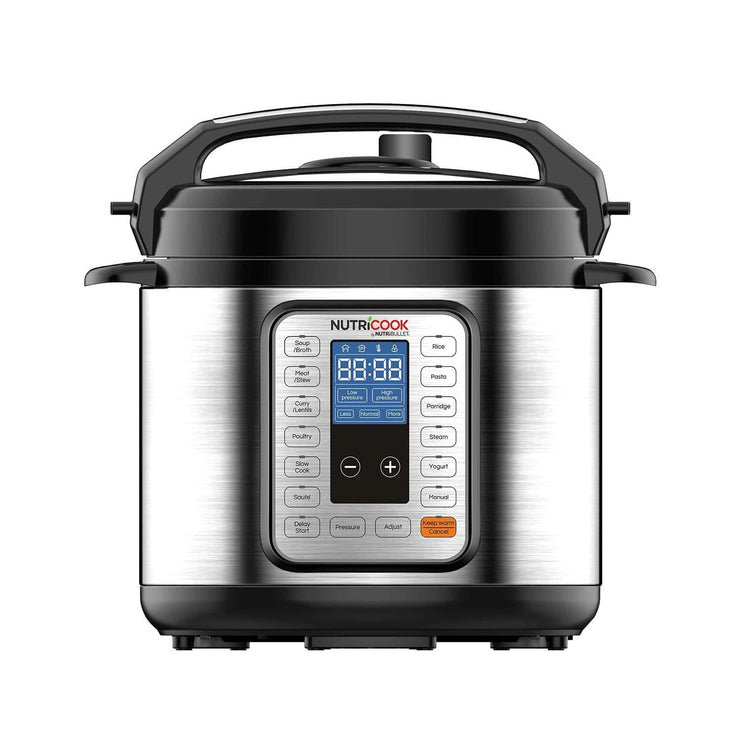 Nutricook Pro 9 in 1 Pressure Cooker - Silver and Black - NC-PRO6 - Jashanmal Home