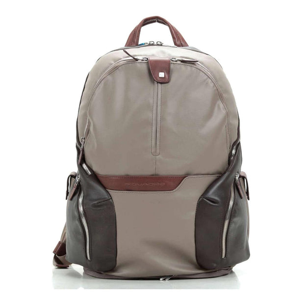 Piquadro Ipad Compartment Backpack - Taupe - CA2943OS/TO