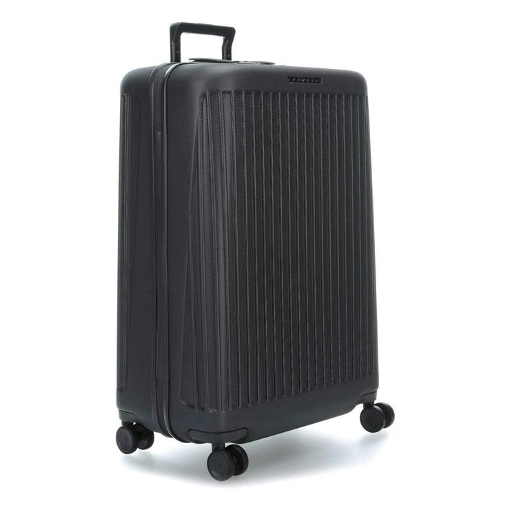 Piquadro Seeker Hardside Spinner TSA Lock Trolley Bag - Grey - BV4428SK/GR
