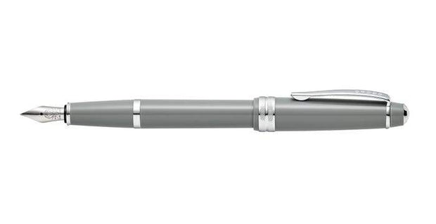 Cross Bailey Light Polished Gray Resin Fountain Pen - AT0746-3MS