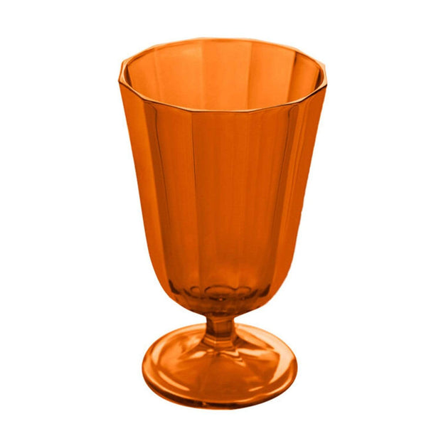 Porland Porselen Water Stemware - Turuncu Orange - 04FIA001732