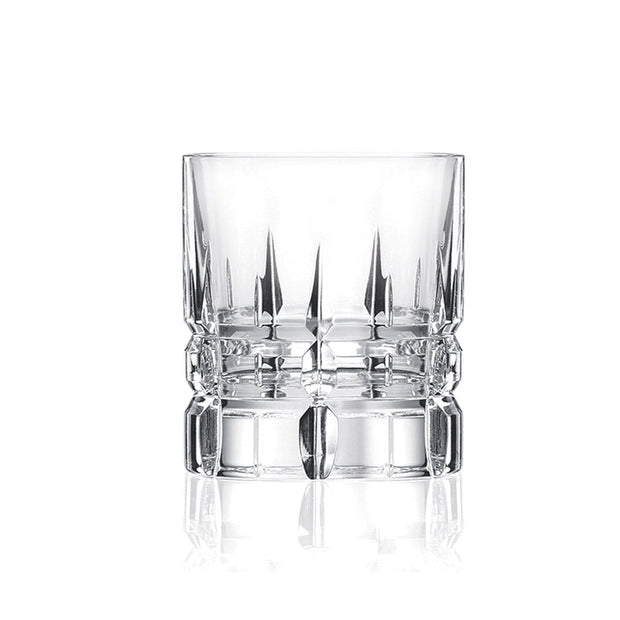 Da Vinci Crystal Italiana Carrara Tumbler - Clear, Set of 6 x 2 - 25630020006 - Jashanmal Home