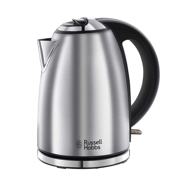 Russell Hobbs Henley Brushed Kettle - 23600GCC - Jashanmal Home