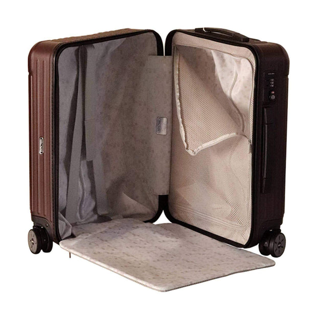 Rimowa Salsa Cabin Luggage Trolley Bag - Matt Carmon Red - 810.56.14.4/811.56.14.4 RED - Jashanmal Home
