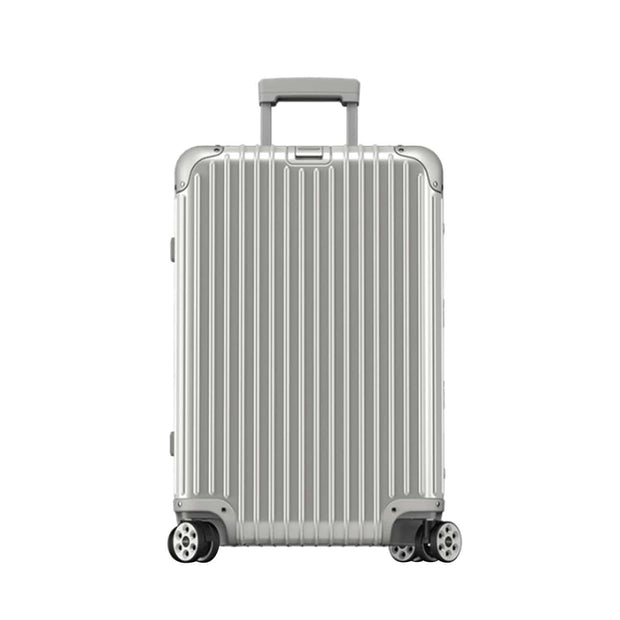 Rimowa Topas Electronic Tag Luggage Trolley Bag - Silver - 924.63.00.5/ 923.63.00.5 SLV - Jashanmal Home