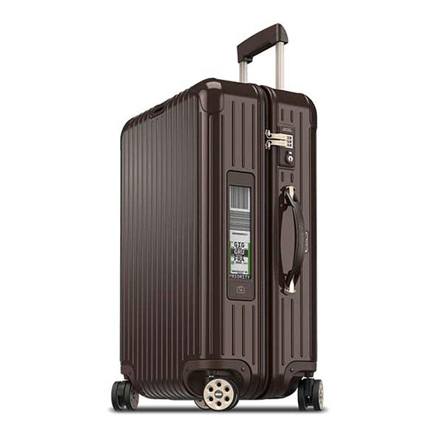 Rimowa Salsa Deluxe Electronic Luggage Trolley Bag - Brown - 831.63.52.5 BWN - Jashanmal Home
