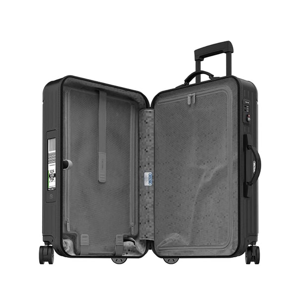 Rimowa Salsa E-Tag Matte Multi Wheel Trolley Bag - Black - 811.63.32.5 BLK - Jashanmal Home