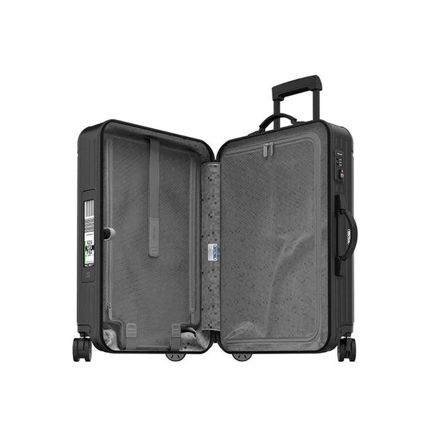 Rimowa Salsa Matte E-Tag Multi Wheel Trolley Bag - Black - 811.70.32.5 BLK - Jashanmal Home