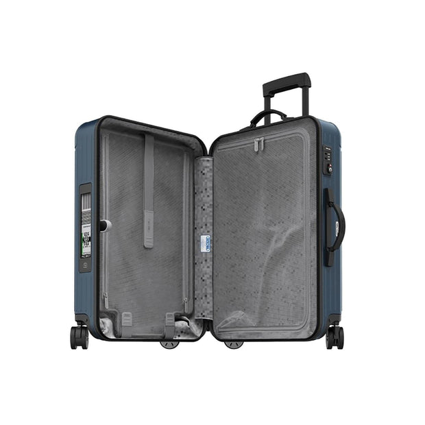 Rimowa Salsa E-Tag Multiwheel Trolley Bag - Matte Blue - 811.70.39.5 BL - Jashanmal Home