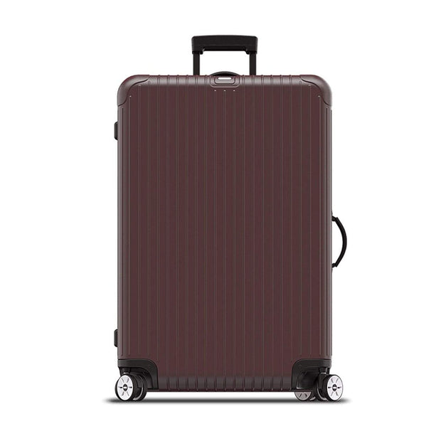 Rimowa Salsa Electronic Tag Luggage Trolley Bag - Matt Carmon Red - 811.77.14.5 RED - Jashanmal Home