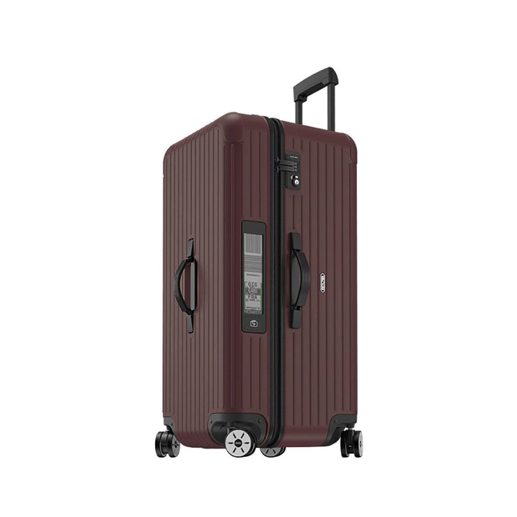 Rimowa Salsa Matte Carmona Sport Multi Wheel Trolley Bag - Red - 811.80.14.5 RED - Jashanmal Home