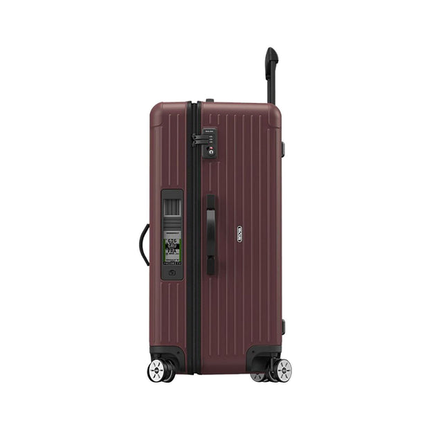 Rimowa Salsa Matte E-Tag Carmona Sport Multi Wheel Trolley Bag - Red - 811.80.14.5 RED - Jashanmal Home