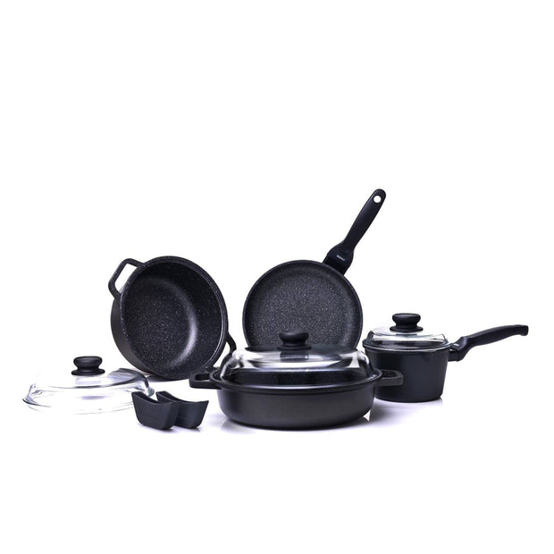 Risoli Granito Hardstone Cookware Set - 9 Piece - 03SET9PZ0HS0 - Jashanmal Home