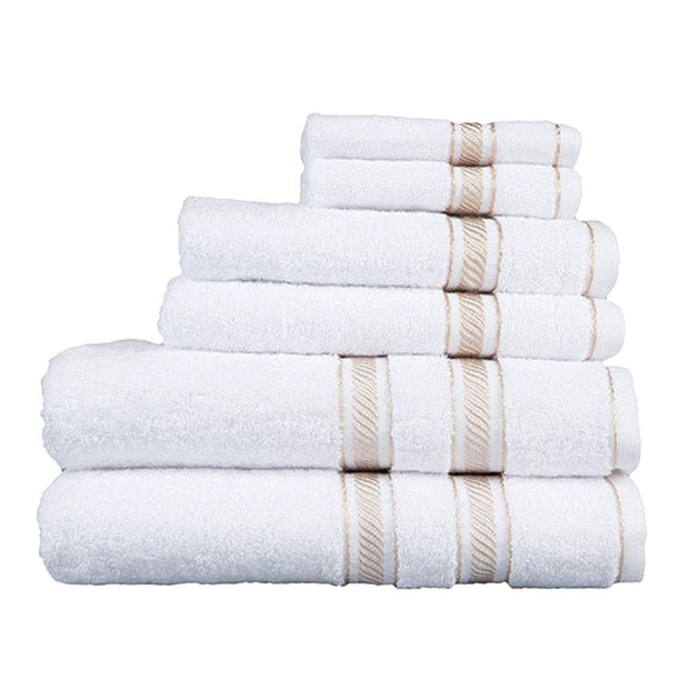 Lionel Richie Towel Set - Gold, 6 Piece - 35416411 - Jashanmal Home