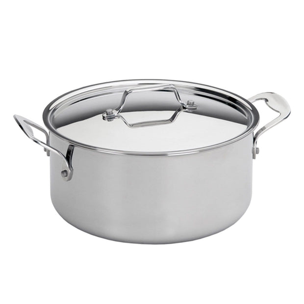 Silampos Supremeprof Casserole with Lid - Silver, 20 cm - 639002BG1020 - Jashanmal Home