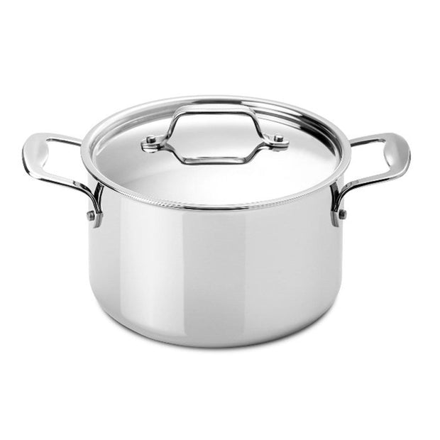 Silampos Supremeprof Stockpot with Lid - Silver, 20 cm - 639002BG6620 - Jashanmal Home