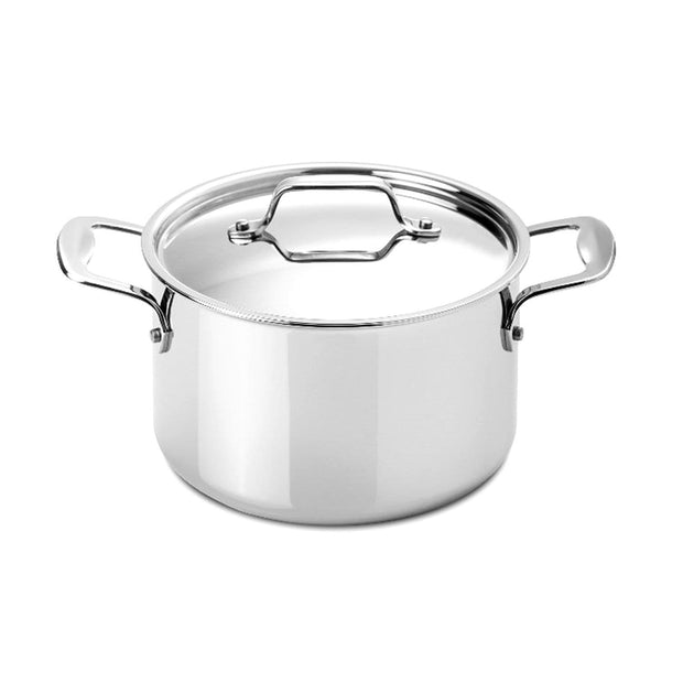 Silampos Supremeprof Stockpot with Lid - Silver, 24 cm - 639002BG6624 - Jashanmal Home