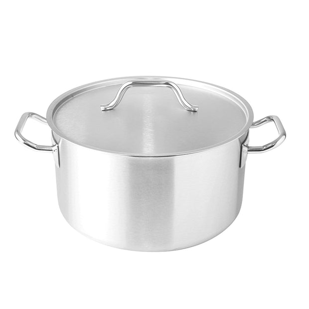 Silampos Deep Casserole with Lid - Silver, 40 cm - 638221BB2940 - Jashanmal Home