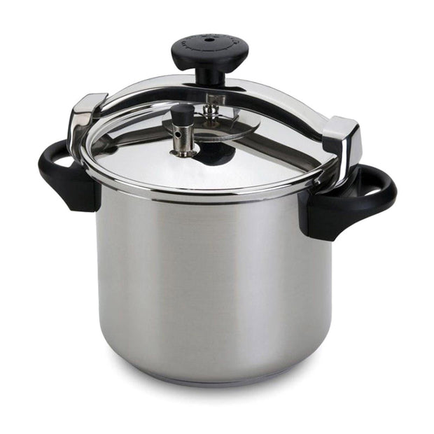 Silampos Pressure Cooker with Basket - Silver, 10L - 643122018610B - Jashanmal Home