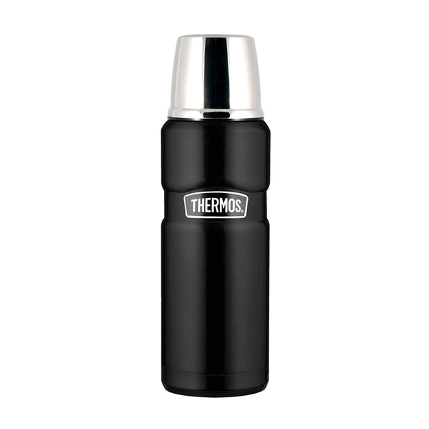 Thermos SK2000 Vacuum Flask - Black, 470 ml - 190894