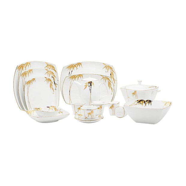 Dankotuwa 98 Piece Dinner Set - BAM-DS/98G - Jashanmal Home