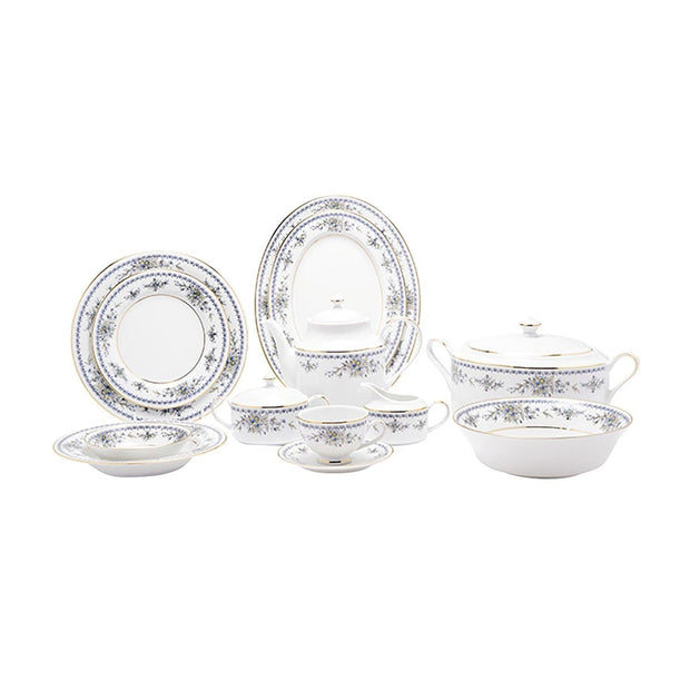 Dankotuwa Treasure 95 Piece Dinner Set - TREAS-DS/95G - Jashanmal Home