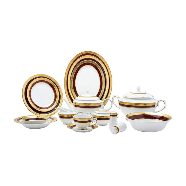 Dankotuwa Empress 98 Piece Dinner Set - EMP-DS/98 - Jashanmal Home