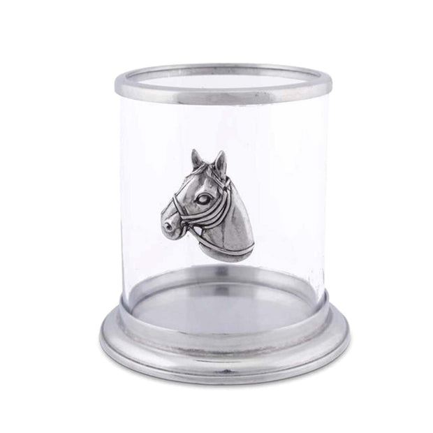 Vagabond House Horse Head Pillar Candle Holder - Small - H102HS - Jashanmal Home