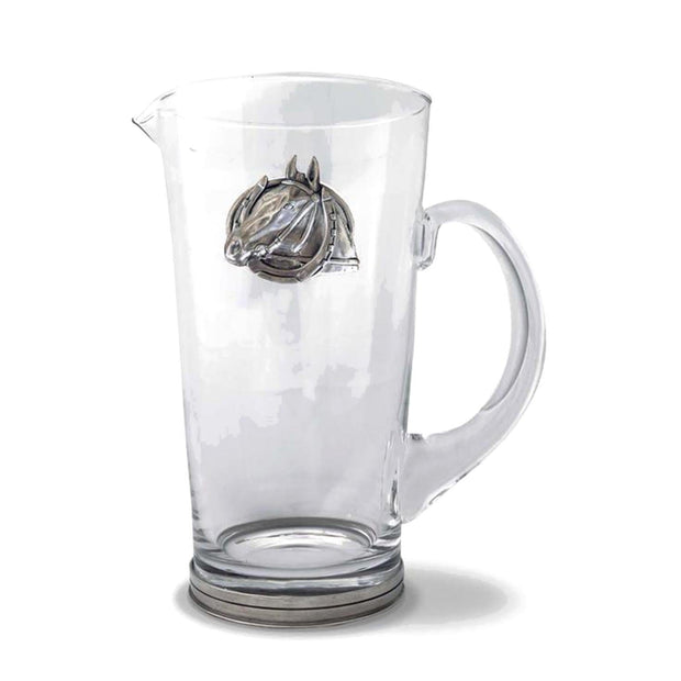 Vagabond House Equestrian Horseshoe Pitcher Glass - H457-EH - Jashanmal Home