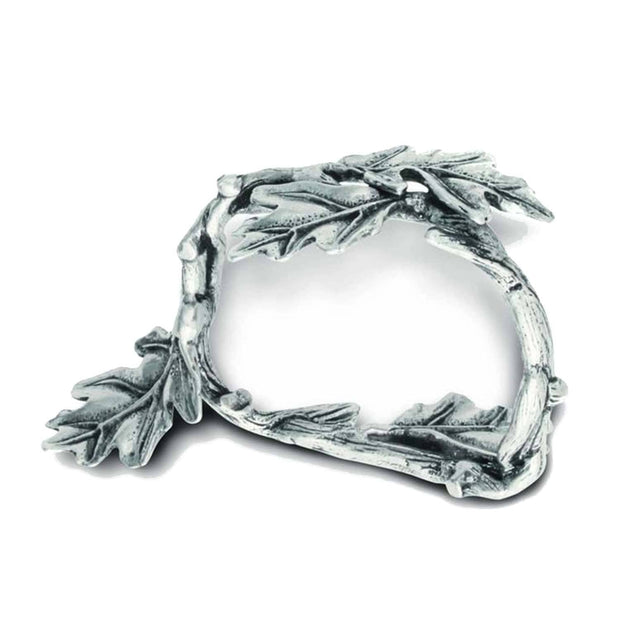 Vagabond House Majestic Forest Oak Leaf Napkin Ring - L115L-1 - Jashanmal Home