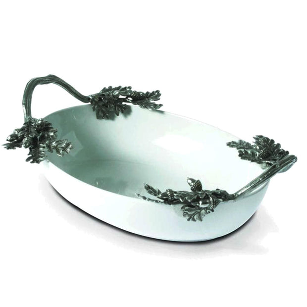 Vagabond House Acorn and Oak Leaf Serving Dish - L305 - Jashanmal Home