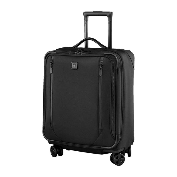 Victorinox Lexicon 2.0 Dual-Caste Luggage Trolley Bag - Black - 601175 - Jashanmal Home