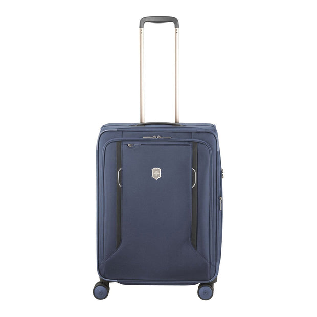 Victorinox Werks Traveler 6.0 Softside Trolley Bag - Blue - 605409 - Jashanmal Home
