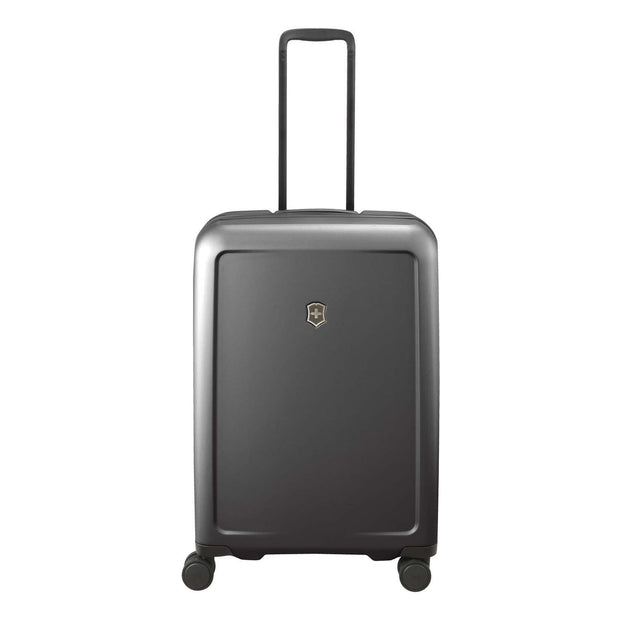 Victorinox Connex Medium Hardside Luggage Trolley Bag - Black - 605667 - Jashanmal Home