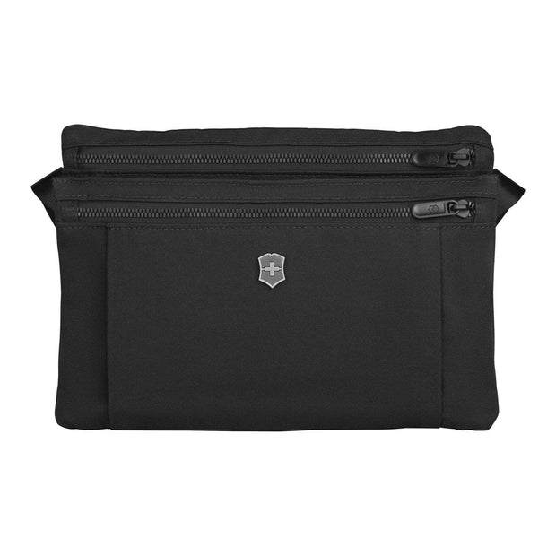 Victorinox Lifestyle Accessory Compact Crossbody Bag - Black - 607128 - Jashanmal Home