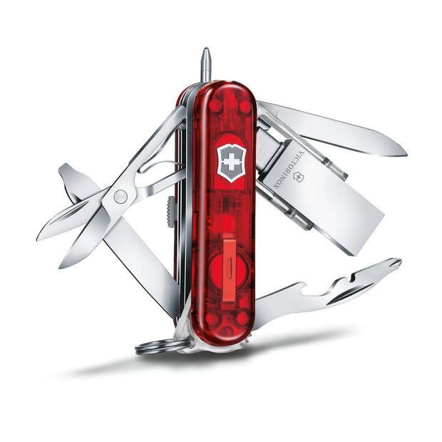 Victorinox Midnight Manager Pocket Knife with 3.1 USB Stick - Red - 4.6336.TG16 - Jashanmal Home