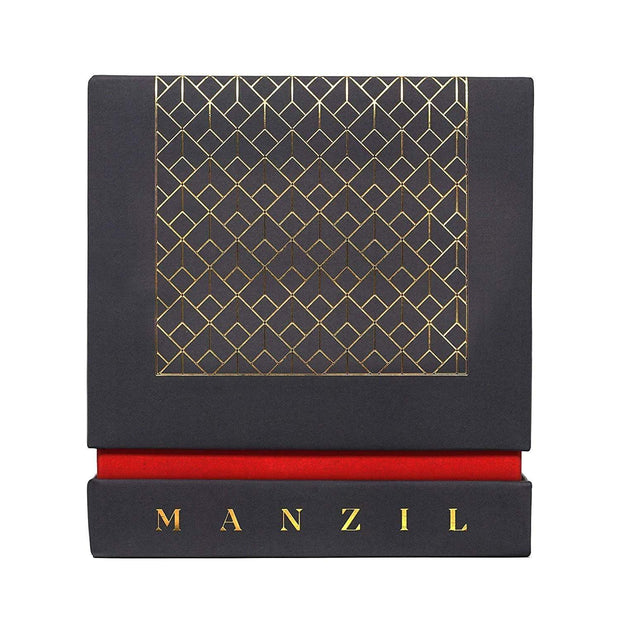 Wallace and Co. Manzil Leather and Oud Home Made Candle - 230 ml - 1936830 - Jashanmal Home