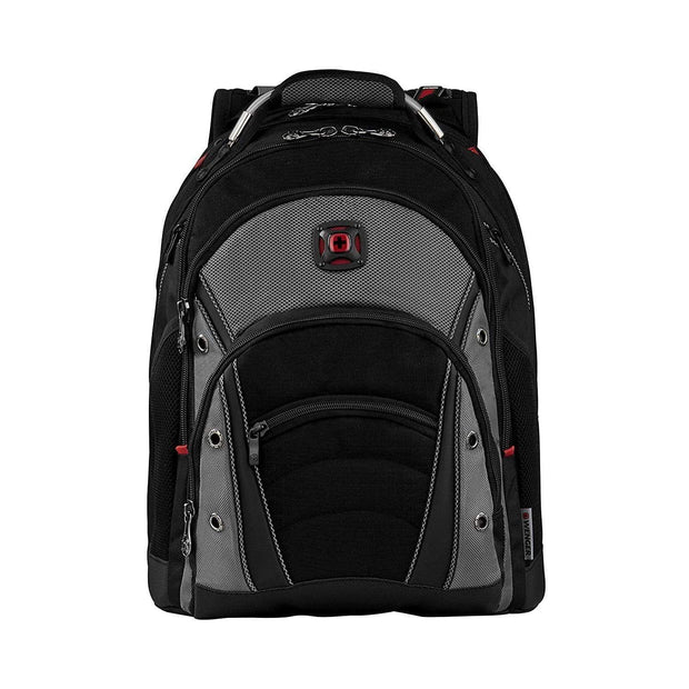 Wenger Synergy Laptop Bag - Black and Grey - 600635 - Jashanmal Home
