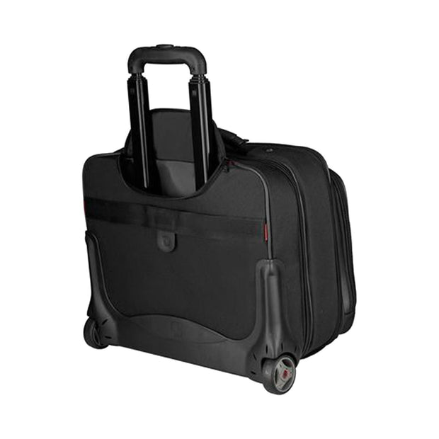 Wenger Potomac Double Gusset Wheeled Bag - Black - 600661 - Jashanmal Home