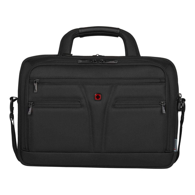 Wenger BC Star 16 Inch Expandable Briefcase - Black - 606465 - Jashanmal Home