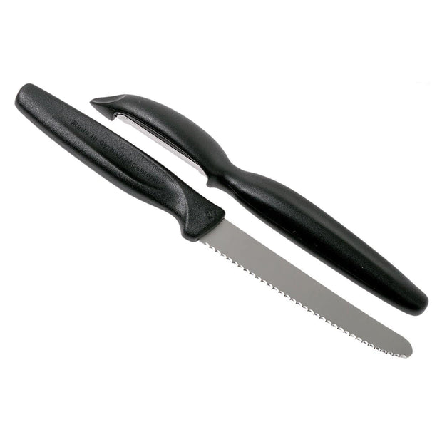 Ed. Wusthof Sharp Fresh Knife and Peeler Set - Black - 9314-3 - Jashanmal Home