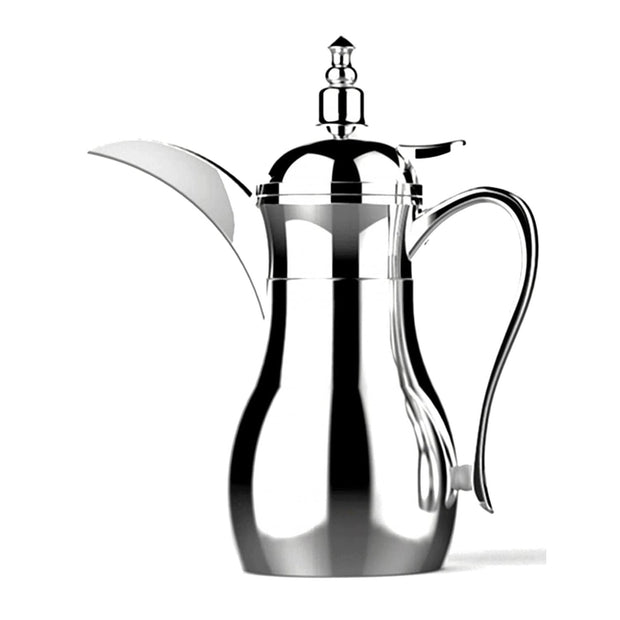 Xtra Nano Arabic Coffee Mini Dallah - Silver, 0.25 Litre - S-0315