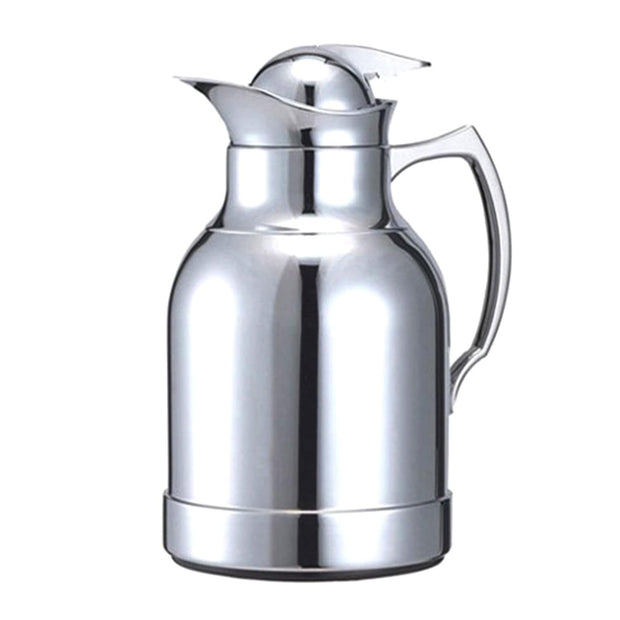 Xtra Blanc II Metal Body Vacuum Flask - Chrome, 1 Litre - V-1046