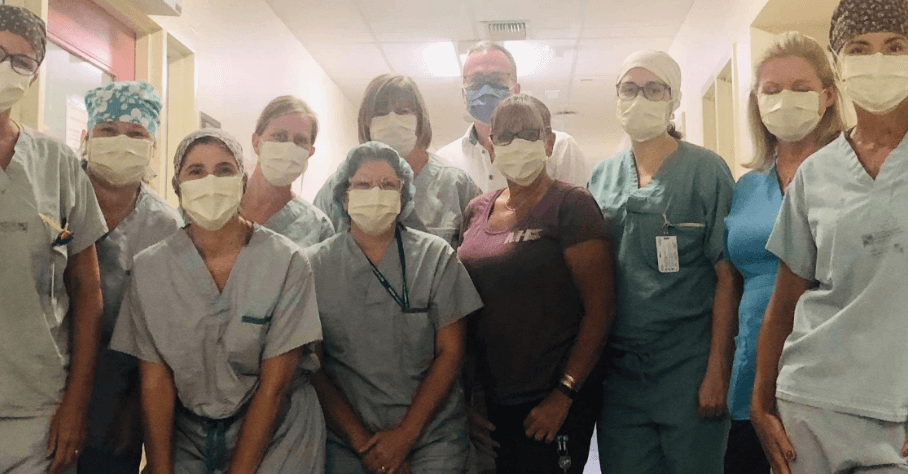 Nurses from Carleton place hospital