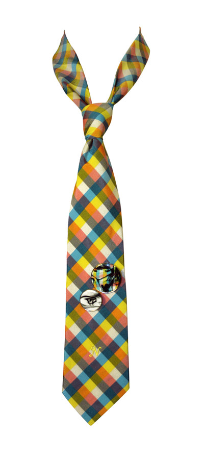 CT-06 -TIES-YELLOW BLUE