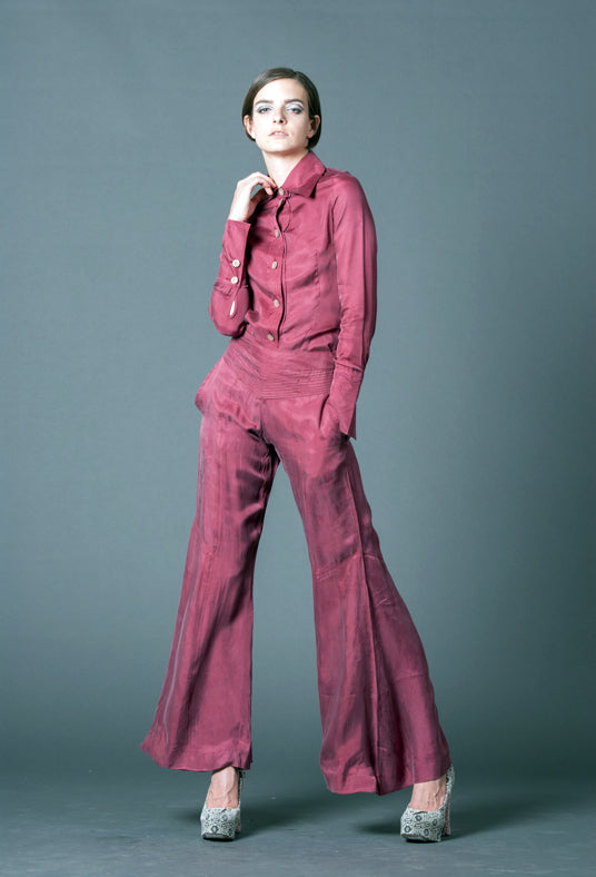 L-002 RED / PANTS