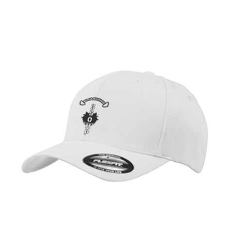 CAP-AN-TAP™ Unisex Smashing 350HP Cap Black and White Middle Placement