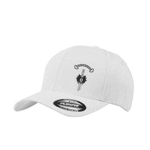 CAP-AN-TAP™ Unisex Smashing 350HP Cap Black and White Side Placement
