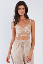 Load image into Gallery viewer, Lexy Cropped Cami Bralette - Nude
