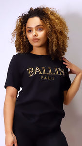 BALLIN  Paris T-Shirt - Black